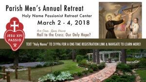 Parish Men's Annual Retreat